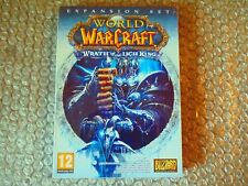 PC MAC WORLD OF WARCRAFT WRATH OF THE LICH KING (Win XP/Vista OS X 10.4.11 NEW