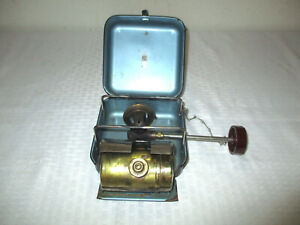 Vintage Brass Optimus 8R Backpacking Stove for Parts or Repair