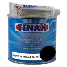 TENAX MASTICE STUCCO PER MARMO NERO VERTICALE ML.750