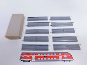 CQ874-0,5# 10x Hamo H0 Nr. 60 Gleis gerade 120 mm für Straßenbahn, NEUW+OVP