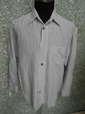 180 L43 SIGNUM Camisa Talla M GRIS CLARO Kit Mezclado Manga Larga Cuello KENT