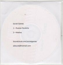 (EP734) Soviet Games, Russian Roulette / Madras - DJ CD