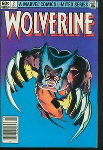 WOLVERINE 2 LIMITED SERIES OCTOBER 1982 VERY FINE MARVEL COMICS ITEM: 28271