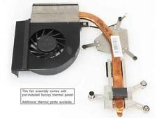 new for HP Compaq Presario CQ61 CQ71 G61 G71 cpu fan with heatsink PN 582145-001