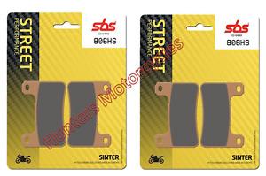 Suzuki GSXR1000 SBS Front Brake Pads Hs Street Sinter 2 x Pair (2005 to 2008)
