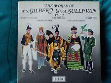Gilbert and Sullivan(Vinyl LP)The World Of Vol.1-Decca-SPA 28-UK-VG/VG