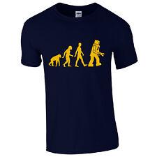 Evolution of Robot T-Shirt - Sheldon Cooper Inspired Funny Big Bang Theory Top