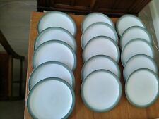 More details for denby regency green dinner plates