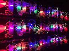 New flashing LED  Hen Party Banner Girls Night Out Pink party decorations glows
