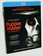 Puppet Master: The Littlest Reich (Blu-ray Disc, 2018) NEW w/ Slipcover