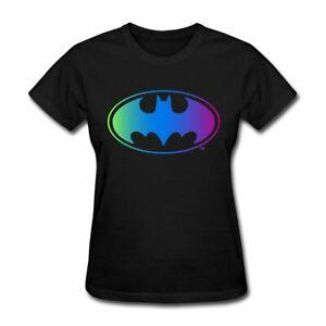 Batman Neon Logo Women's T-Shirt