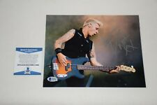 GREEN DAY MIKE DIRNT SIGNED AUTOGRAPHED 8x10 PHOTO BAS C44894 dookie nimrod