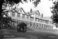 dfg-5 Mundesley Hospital, Norfolk. Photo