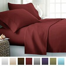 NEW, Beckham Hotel Collection Luxury Soft Brushed 2100 Series Microfiber Sheet S
