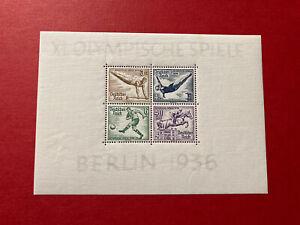Deutsches Reich Block 5 Olympische Sommerspiele Berlin 1936 postfrisch