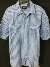 Falcon Bay Short Sleeve Shirt Snap Buttons Sz XXL