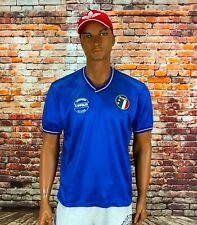 VINTAGE 1986-90 ITALY HOME SHIRT SOCCER FOOTBALL JERSEY MAGLIA CALCIO MENS S-M