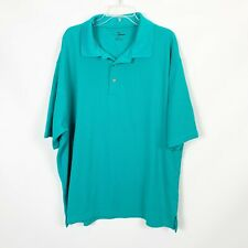 Grand Slam 3X Golf Polo Shirt Teal Blue Casual