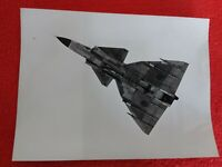 AVIATION/Avions SAAB Suède /avion d'attaque SAAB 37 viggen/Photo 18x24/