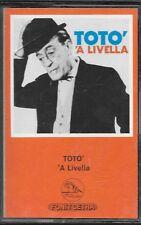 "TOTO' - RARA MC MUSICASSETTA "" 'A LIVELLA """