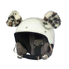Helmohren Gepard für Helm Ohren Helmet Ears Skihelm Cheetah Gepardenohren Ski