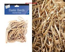 Forte elastico ELASTICI 100g Pack per ufficio casa scuola/Cartoleria Nuovo