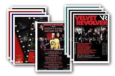 VELVET REVOLVER - 10 promotional posters  collectable postcard set # 1