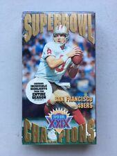 Super Bowl 29 (VHS, 1997, San Francisco Forty Niners) New NFL Films Movie Video