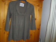 Brown soft fine knit lightweight summer /autumn jumper, ZARA TRAFALUC, Medium