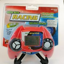 MGA Entertainment Auto Racing Game Handheld Red Electronic New Free Shipping