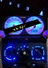 Blauer Led Tacho+Innenraum für VW Golf 3
