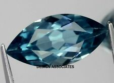 LONDON BLUE TOPAZ NATURAL 12X6 MM MARQUISE CUT AAA