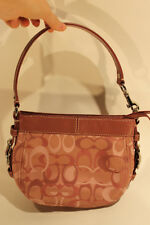 Coach Womens Small Pink Clutch Purse C1082-F44109 Excellent Used AUTHENTIC 1533