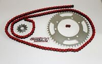 Kit Chaine Renforcé 12x53 Rouge RIEJU MRT 50 2009 à 2017