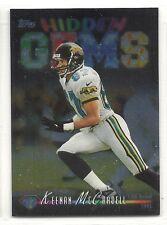 1998 Topps Football - Hidden Gems - #HG9 - Keenan McCardell - Jaguars