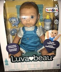 Luva Beau Luvabeau Interactive Dol (boy) In Hand Toys R Us Exclusice