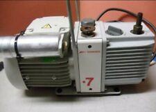 Edwards E2M0.7  Rotary Vane Vacuum Pump  Working