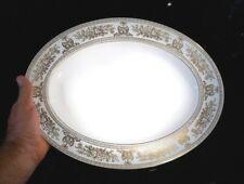 Beautiful Wedgwood Gold Columbia Large Oval Platter