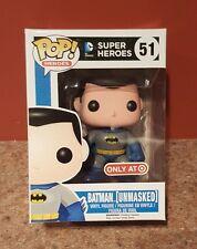 Funko Pop Figure DC Target Exclusive Batman Unmasked Blue Super Heroes 51