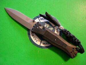 """NTSA BENCHMADE USA """"MINI PARDUE"""" 4 """" CLOSED AXIS LOCK POCKET KNIFE #530"""