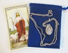 St. Maria Goretti, Saint Medal with 24 Inch Necklace