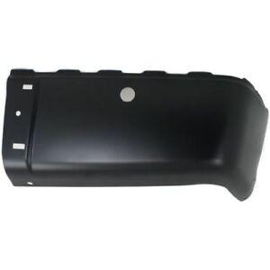 For Sierra 2500 HD 07-13, Rear, Passenger Side Bumper End, Primed, Steel