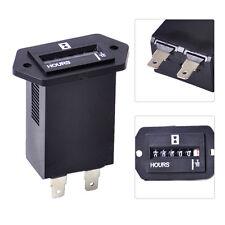 Hour Meter Counter 6 Digit Display AC 100-250V fits Electromechanical Generator