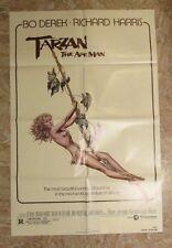 "1981 TARZAN THE APE MAN Original 1-SH Movie Poster FVF 7.0 27x41"" Bo Derek"