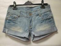 Bay Trading Denim Ladies Shorts in Blue - New - Size UK 10