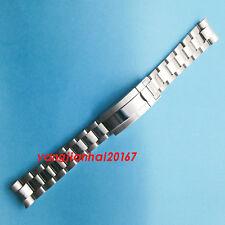 BLIGER 20mm 316L Solid stainless steel bracelet fit 40mm-41mm mens watch P001