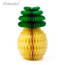 Fiesta Pineapple Honeycomb Garland Hawaiian Summer Party Birthday Decorations