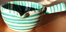 Gmundner Keramik Souciere, grün geflammt, neu