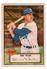 1952 Topps #37 Duke Snider - Brooklyn Dodgers - Dodgers, Very Good Condition