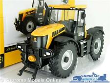 JCB FASTRAC 3230 MODEL TRACTOR VEHICLE 1:32 SIZE YELLOW BRITAINS FARM 42762 T3